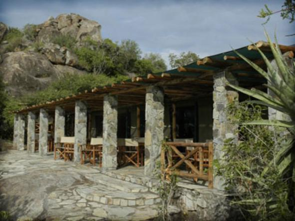 Mbuzi Mawe Tented Camp - Deck